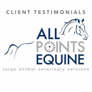 Client Testimonials of All Points Equine